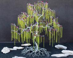 arboles miniatura bonsai con alambre - Buscar con Google