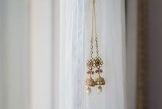 Jhumka, an Indian Bridal jewellery