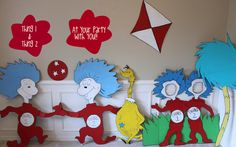 """Photo 3 of 45: The Cat in the Hat / Birthday """"Dr. Seuss"""" 