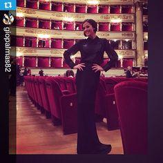 Teatro alla Scala per una splendida serata del #FAI. Giorgia Palmas