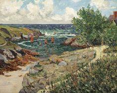 Maxime Maufra - Port de Goulphar, Belle-Île-en-Mer (1900)
