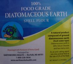 Diatomaceous Earth 2.5 lb. Gal. Jug by Earthworks Health $11.50