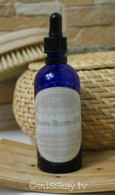 Hautstraffendes Körperöl ganz einfach und preisgünstig selber machen! Klebt und fettet nicht, riecht angenehm und strafft deine Haut.