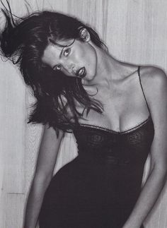 "Stephanie Seymour in Guns N' Roses ""November Rain"" music video"