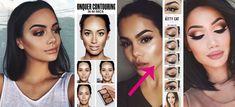 Si tienes el cabello oscuro, a continuación te dejamos 10 tips de maquillaje para que conozcas el mejor tonos de cejas, de labios y muchos más tips.