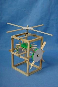Hands on engineering stem projects for kids and students physics force and mechanical gear windmill diy toys world bear windmill can we make this with dowels and popsicle sticks solutioingenieria Images