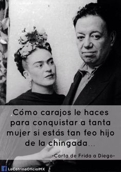 Doppio ritratto - Frida Kahlo e Diego Rivera Words Quotes, Wise Words, Art Quotes, Funny Quotes, Life Quotes, Inspirational Quotes, Mindset Quotes, Sayings, Diego Rivera Frida Kahlo