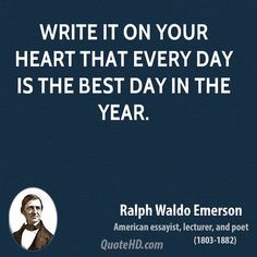 Ralph Waldo Emerson New Year's Quotes | QuoteHD