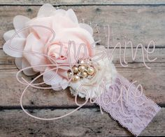 Chic Chiffon Couture Headband {Blush} is part of the @Fabulous Fun Finds Silent Charity Auction for the Johnson Family