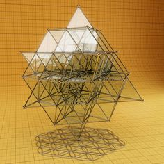 The Flower of Life and the 64 Tetrahedron grid