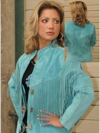 Plus size western wear, Scully product, Western leather wear. A True Western suede Jacket drapes gracefully from the shoulders. Plus Size Western Wear, Western Wear For Women, Women Wear, Western Dresses, Western Outfits, Fringe Leather Jacket, Suede Jacket, Turquoise Fashion, Western Chic