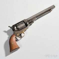 Whitney Navy Model Revolver, c. late 1850s/early 1860s. | Auction 2908T | Lot 1029 | Sold for $1,968