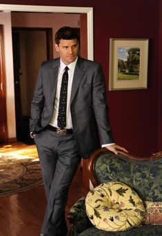 David as Special Agent Seeley Booth Booth And Bones, Booth And Brennan, Bones Actors, Pretty People, Beautiful People, Beautiful Men, Hello Gorgeous, Vampires, Seeley Booth