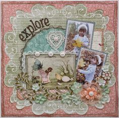 Explore **MY CREATIVE SCRAPBOOK** - Scrapbook.com Graphic 45 - Once Upon a Springtime Collection