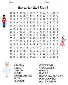 image about Nutcracker Worksheets Printable named 307 Easiest Nutcracker Crafts pics in just 2016 Nutcracker