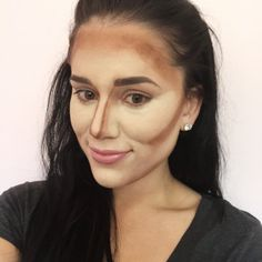 How I cream contour + highlight with Anastasia Cream Contour Kit in Medium Makeup Tips, Beauty Makeup, Hair Makeup, Hair Beauty, Makeup Tutorials, Face Contouring Makeup, Contouring And Highlighting, Pretty Girl Face, Contouring