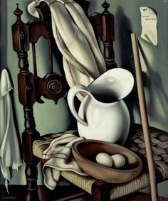 Tamara de Lempicka - Still Life with Eggs ~Repinned Via jules