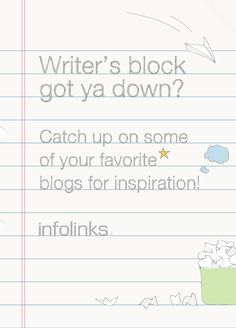 Optimization tip 12: Get inspired to beat writer's block! #InfolinksCountdowntoOptimization