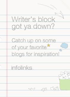 Optimization tip 12: Get inspired to beat writer's block! #InfolinksCountdowntoOptimization