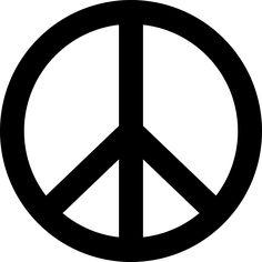 Friedenszeichen, Frieden, Symbol, Peace Zeichen