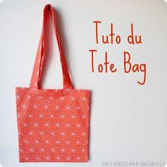 Tote of the tote bag! – Made In Eden – the … - Womens Bags Sacs Tote Bags, Diy Tote Bag, Diy Couture, Couture Sewing, Couture Cuir, Tod Bag, Do It Yourself Mode, Diy Bags Purses, Diy Handbag