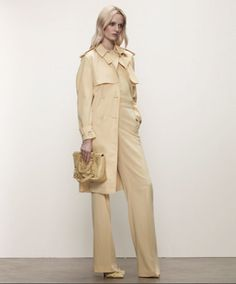 #Trench #BottegaVeneta amarillo