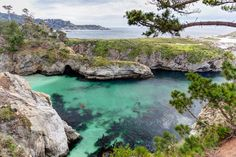 China Cove in California. This photo is from the article on Roadtrippers.  #roadtrip #california #travel
