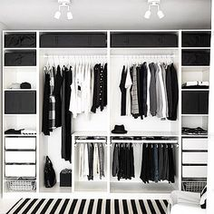 Trendy Open Closet Storage Ideas Walk In Bedroom Closet Doors, Bedroom Closet Design, Bedroom Wardrobe, Wardrobe Closet, Bedroom Storage, Master Closet, Diy Bedroom, Trendy Bedroom, Closet Mirror