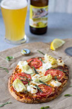 Artichoke Flatbread Pizza