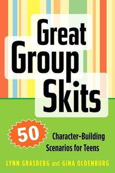 The Paperback of the Great Group Skits: 50 Character-Building Scenarios for Teens by Lynn Grasberg, Gina Oldenburg Team Building Skills, Team Building Activities, Teaching Theatre, Teaching Kids, Camp Skits, Skits For Kids, Middle School Drama, Youth Group Games, End Of Year Activities