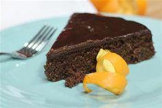 Chocolate Orange Cake with Chocolate Ganache