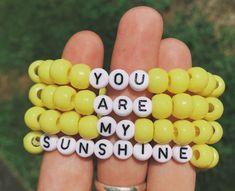 Personalized Saying Alphabet Bead Word Kandi Bracelets - DIY - Bracelets Bracelets Diy, Pony Bead Bracelets, Homemade Bracelets, Beaded Braclets, Kandi Bracelets, Summer Bracelets, Bracelet Crafts, Pony Beads, Beaded Jewelry