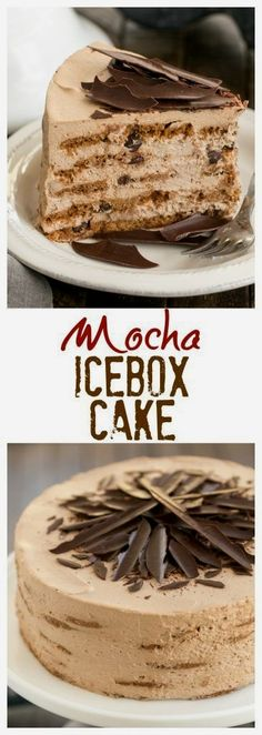 Mocha Chocolate Chip Cookie Icebox Cake | A no-bake dessert that will make you swoon!