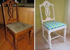 Casa - Decoração - Reciclados: Móveis - Antes e Depois