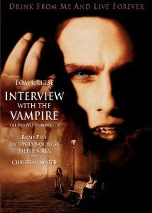 Brad and Tom...a lovely combination in Interview with the Vampire