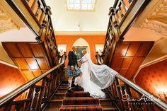 Emma and Stuart at Sherbrooke Castle - by Ian Arthur Glasgow Wedding Photography #www.ianarthur.co.uk