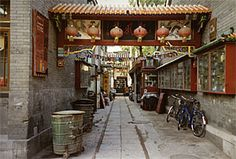 Hutongs the Ancient Streets in Beijing   Bejing 2008