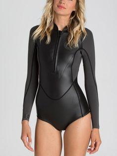 BLACK Swin Suits, Diving Wetsuits, Womens Wetsuit, Billabong Women, One  Piece Swimsuit 7931deec998a