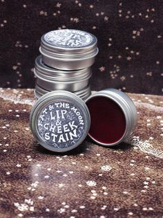 New obsession: Fat & The Mood...everything they make. Everything.    Lip & Cheek Stain .5 oz. $12.00, via Etsy.