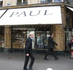 Go to a real Paul in Paris