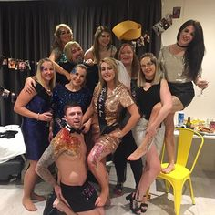 Check out this cheeky butler #henparty #glitterparty #theme #butlersiwthbums!
