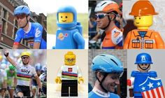 You can tell it is Tour day France time - funny take on new helmets & jerseys on VeloNews