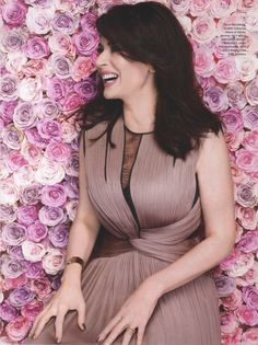 Nigella Lawson - Red Magazine - Mercury Dress. Not only is Nigella an absolute beauty, but she also encourages me to eat tons of carbs!!!