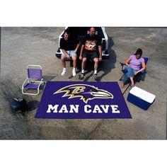 Baltimore Ravens NFL Man Cave Ulti-Mat Floor Mat (60in x 96in)