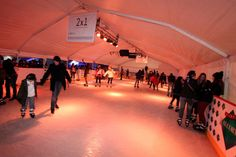 Ice skating in Buenos Aires