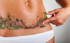Cover over abdominal scars I TuckTats I ScarInk | TuckTats