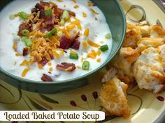 Mommy's Kitchen: Loaded Baked Potato Soup & Robin Mcgraw