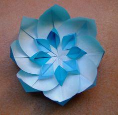 How to make a Paper Flower Origami / Как сделать Цветок из бумаги Оригами