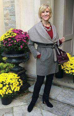 Cozy wrap coat   Fabulous After 40