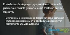¿Conoces el Síndrome de #Asperger? #niños #maternidad #autismo